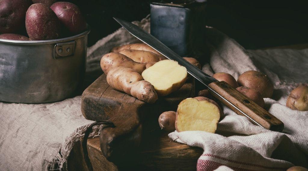 Burgonya terméshozam (várható termésátlag otthon)
